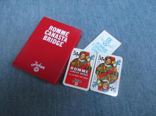 Rommé und Canasta Karten NEU - Bremen