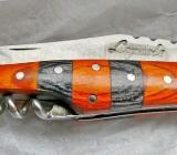 """""""Laguiole""""-Marken-Taschenmesser, Edelstahl, Holz, Korkenzieher... - Diepholz"""