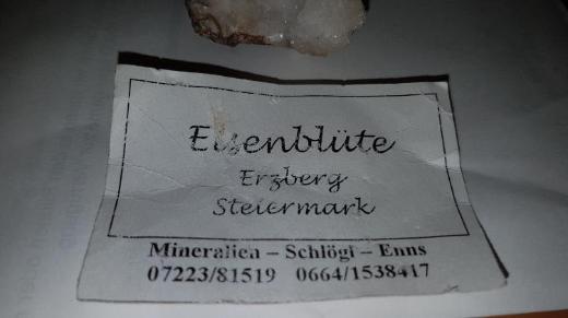 Wunderschöne Aragonitstufe  (Eisenblüte) zu verkaufen. - Bremen