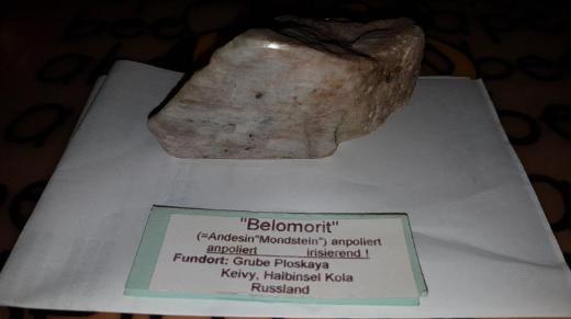 Belomorit  (russischer Mondstein) zu verkaufen. - Bremen