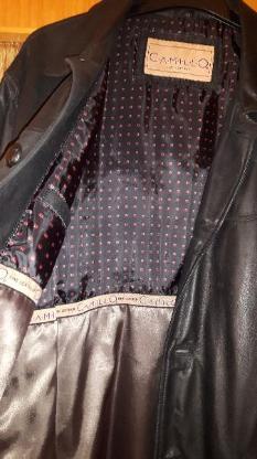 Herren Lederjacke –CAMILLO - fine leather Gr. 56 - Barnstorf