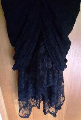Damen Schlauchkleid-Abendkleid schwarz - Barnstorf