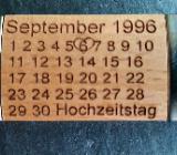 Glücksbringer zum Geburtstag mit Namen * Datum - Oldenburg (Oldenburg) Bloherfelde