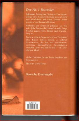 Die FARM   von John GRISHAM , Roman - Bremen