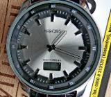 FUNK-Marken-Armbanduhr, neues Leder-Armband, neue Batterie - neuwertiger Zustand! - Diepholz