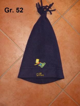 Fleece-Mütze Gr. 52: Bart Simpson / Schal - Bremen