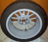1 x Stück original VW Alufelge 7J x 17 H2 ET 54 inkl. 225 Continental Reifen - Verden (Aller)