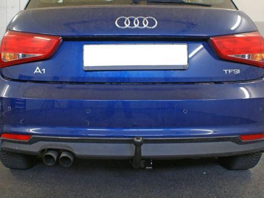 Anhängerkupplung Audi-A1 3-Türer, Baujahr 2010- - Apen