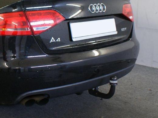 Anhängerkupplung Audi A4 Limousine 2007-2011 vertikal abnehmbar - Apen