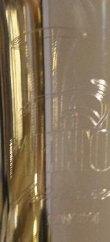 Melton Meisterwerk Tenorhorn MWT24-L, Goldmessing, 4 Ventile mit Ventildeckelgravuren. NEU - Bremen Mitte