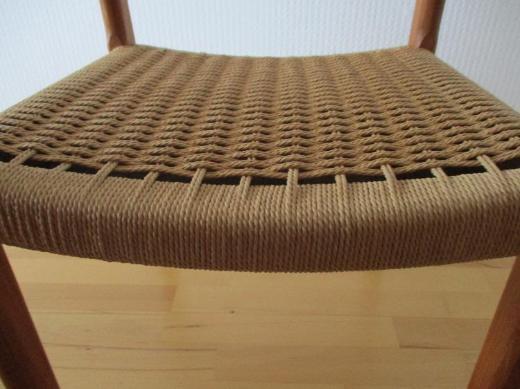 Stühle mit dänischer Flechtschnur - Achim