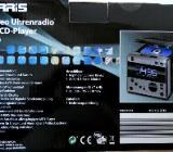 STEREO-Uhrenradio mit CD-Player, Bedienanleitung, neuwertig in der OVP - Diepholz
