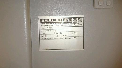 Felder kantenanleimer g200 - Weyhe