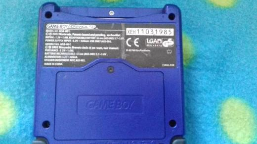 Gameboy Advance SP Blau - Zeven