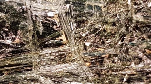 444gr. schweres Aktinolith Rohstück zu verkaufen. - Bremen