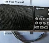 Mini-Stereo-Radio mit Akku, Trageschlaufe, Anleitung, absolut neuwertiger Zustand in OVP - Diepholz