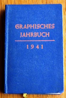Graphische Jahrbücher 1937, 1939, 1940, 1941 - Wilhelmshaven