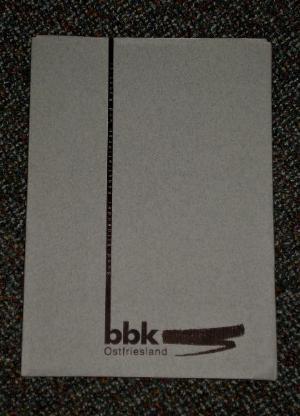BBK Ostfriesland - Jahresausstellung 1999 - Wilhelmshaven