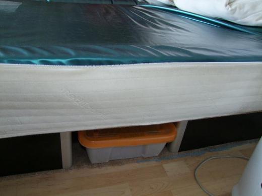Wasserbett, Dualsystem- 2 getrennte Matratzen - Stuhr