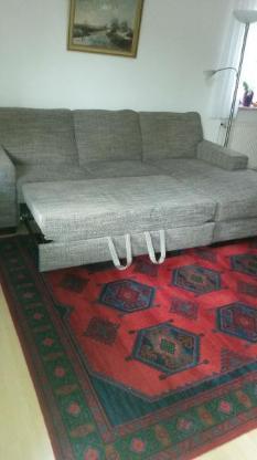 Couch, 2-Sitzer mit Ottomane - Lilienthal