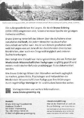 Heilung auf geistigem Weg - medizinisch beweisbar - Bremen
