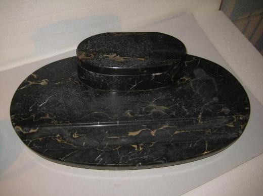 Antikes Marmor Schreibtischset - Bremen