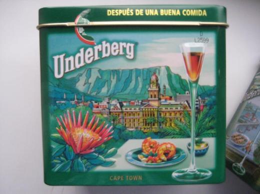 Underberg Werbe-Blechdosen (leer), Schmuckdose - Bremen