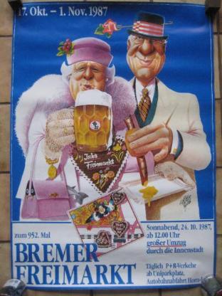Bremen Freimarkt Plakate - Bremen