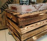 Couchtisch auf Rollen,Regal,Tisch,Truhe,Holzkiste, Beistelltisch, Rollcontainer, Stauraum, Holztisch, Bürorodnung - Bremen