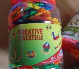 3 Dosen Kreative Steckteile mit Muster ( Inhalt von 6 Dosen ) NEU ! - Edewecht