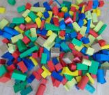 Holz Bauklötze / Steine über 150 Stück - Edewecht