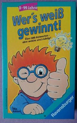 Wer´s weiß gewinnt! - Frage Antwort Spiel von Ravensburger - Oldenburg (Oldenburg) Osternburg