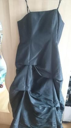 Schwarzes Abendkleid zum Zuschnüren mit Stola Größe 42 - Oldenburg (Oldenburg) Osternburg