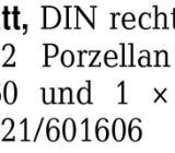 Weißes Türblatt, DIN rech -