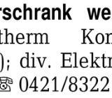 Bosch Gefrierschrank weiß -