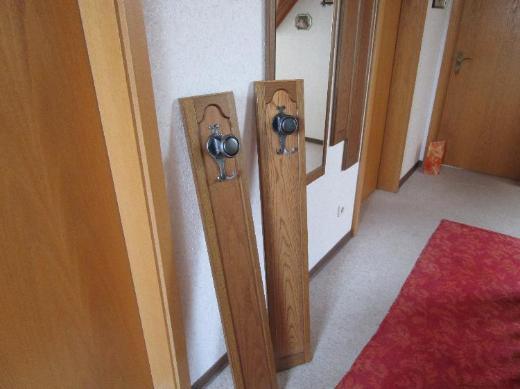 Garderobe, Spiegel mit 4 Garderobenleisten - Oldenburg (Oldenburg) Kreyenbrück