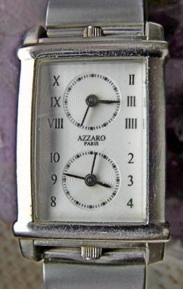 Top Armbanduhr, 2 Ziffernblätter, Edelst.-Armband, Batterien neu, gut gepflegt - Diepholz