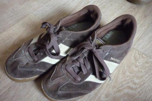 Skechers Turnschuhe Sneakers braun Gr. 40,5 / 41 - Bremen