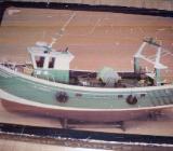 Modellschiff Fischkutter - Schiffdorf