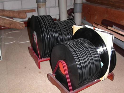 Alte Schallplatten - Delmenhorst