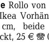 Rollo/Vorhänge Rollo von - Bremen Findorff