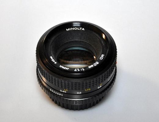 Minolta Objektiv MD 50mm 1:1,7 - Achim