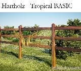Hartholz Paddockzaun ROYAL, Pferdezaun, Weidezaun, Koppelzaun - Kirchlinteln