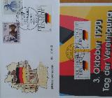 """Gedenkblätter """"Tag der Deutschen Einheit"""""""
