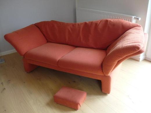 Rotes Sofa von Brühl und Sippold - Delmenhorst