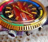 Originelle Edelstahl-Marken-Armbanduhr mit Gliederarmband - Für Bastler!? - Diepholz