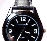 Unisex-Marken-Armbanduhr, top ablesbar, mit Lederarmband - ungetragen, absolut neuwertig! - Diepholz
