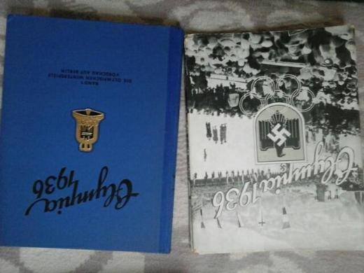 Altes Buch 1940 Olympia 1936 - Bremerhaven