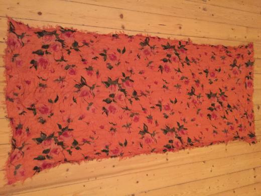 Frida Schal Tuch Orange Baumwolle 1,80 x 80 cm - Bremen
