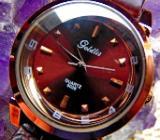 Modische Damen-Marken-Armbanduhr, Kunstlederarmband, gepflegter Zustand! - Diepholz